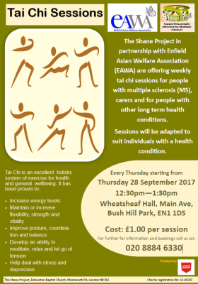 Sessions Will Be Held Every Thursday Starting From 28 September 2017 1230pm 130pm At Wheatsheaf Hall Main Ave Bush Hill Park EN1 1DS